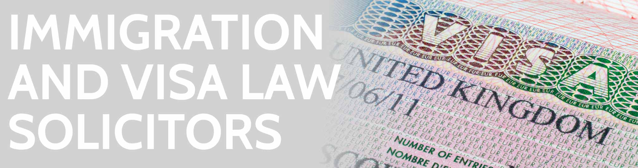 Immigration law solicitors