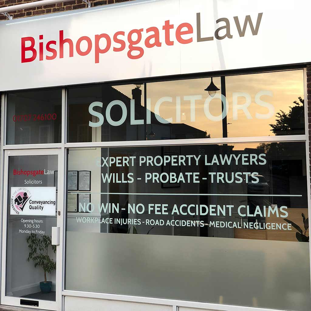 Bishopsgate Law Potters Bar